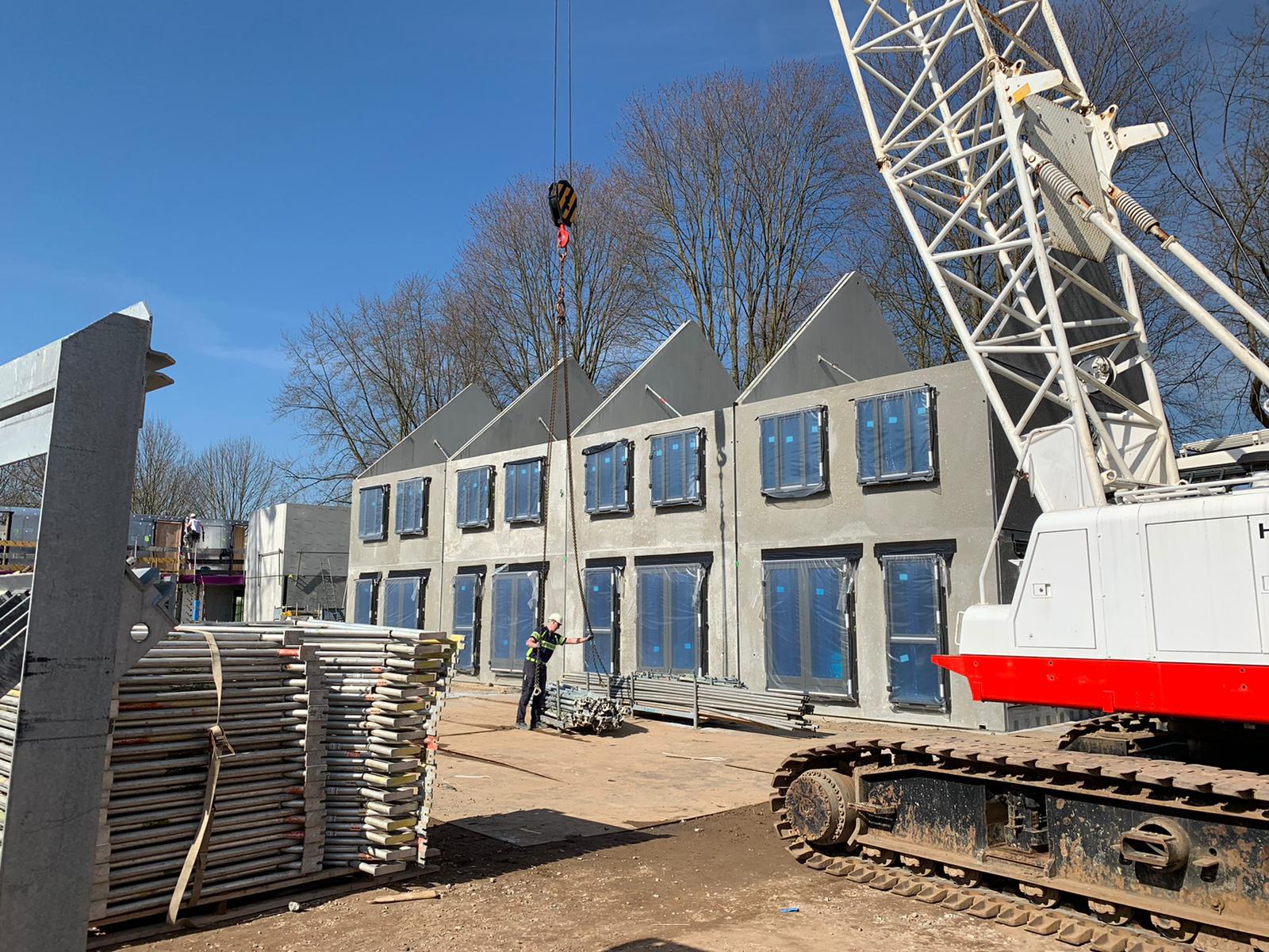 Woningbouw MBS Hybrid Casco