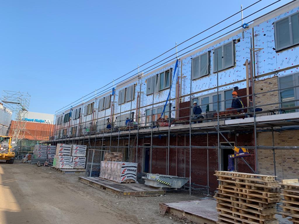 Woningbouw van MBS Hybrid Casco