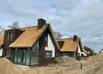 Prefab beton casco's vakantiewoningen